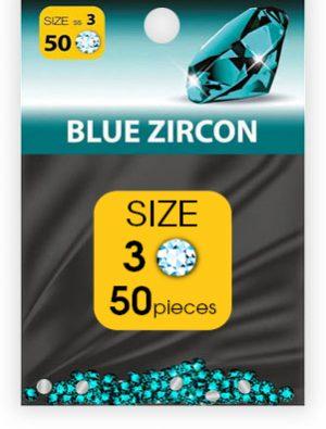 -дизайн стразы №3 BLUE ZIRCON (50 шт.)_swatch
